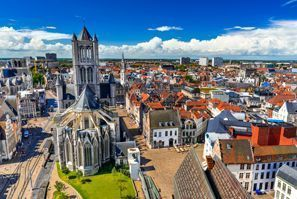 Ubytování Gent, Belgie