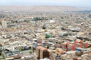 Ubytování Arica, Čile