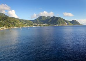 Ubytování Canefield, Dominica