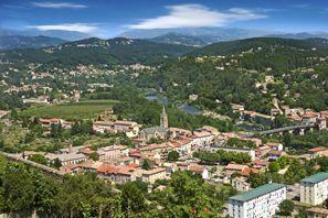 Ubytování Aubenas, Francie