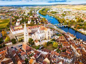 Ubytování Auxerre, Francie