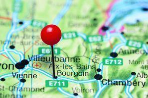 Ubytování Bourgoin Jallieu, Francie