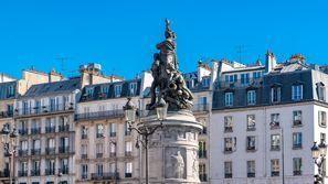 Ubytování Clichy, Francie