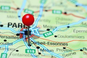 Ubytování Corbeil, Francie