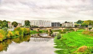 Ubytování Dax, Francie