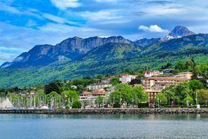 Ubytování Evian, Francie