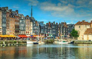 Ubytování Honfleur, Francie