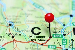 Ubytování Montceau-les-Mines, Francie