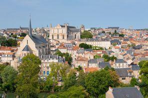 Ubytování Poitiers, Francie