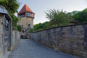 Ubytování Poligny, Francie