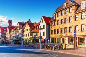 Ubytování Fuerth, Německo