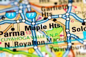 Ubytování Maple Heights, OH, USA