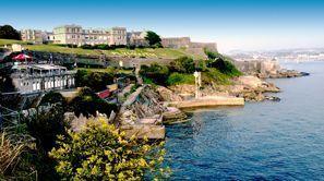 Ubytování Plymouth, Velká Británie