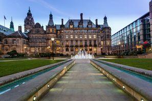 Ubytování Sheffield, Velká Británie