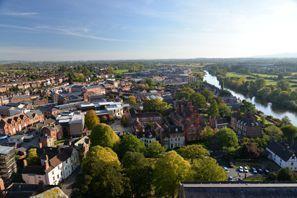 Ubytování Worcester, Velká Británie